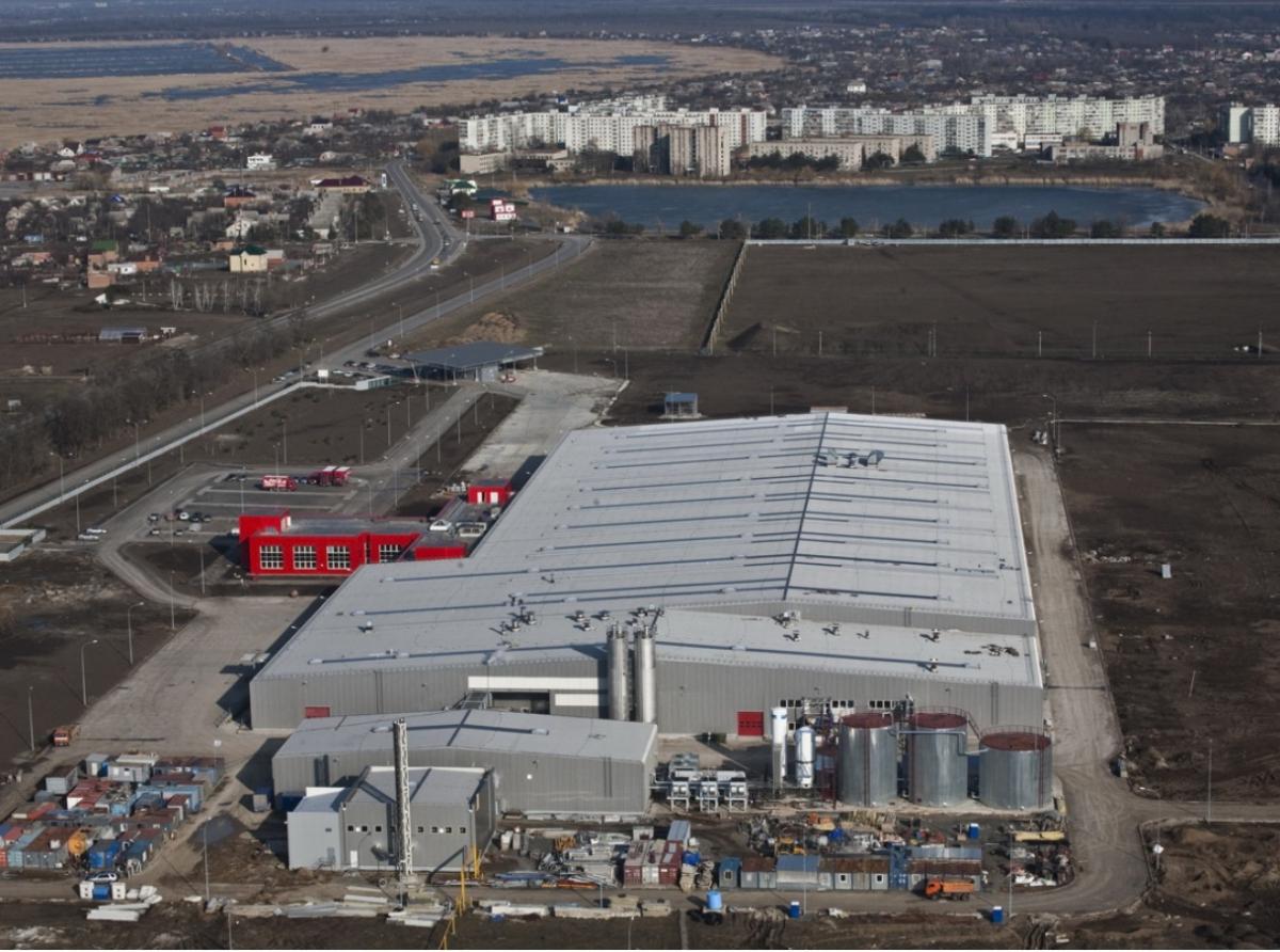 industrial roof waterproofing membrane and skylights